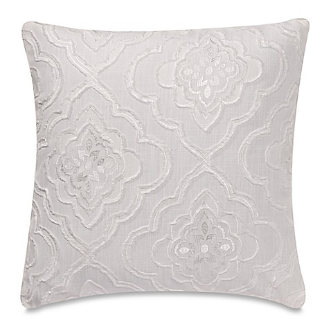Throw Pillow Covers Bed Bath Beyond : Buy My-Throw-Own-Pillow Mystic Throw Pillow Cover in White from Bed Bath & Beyond