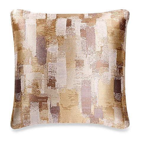 buy make your own pillow mitro square throw pillow cover in natural from bed bath beyond. Black Bedroom Furniture Sets. Home Design Ideas