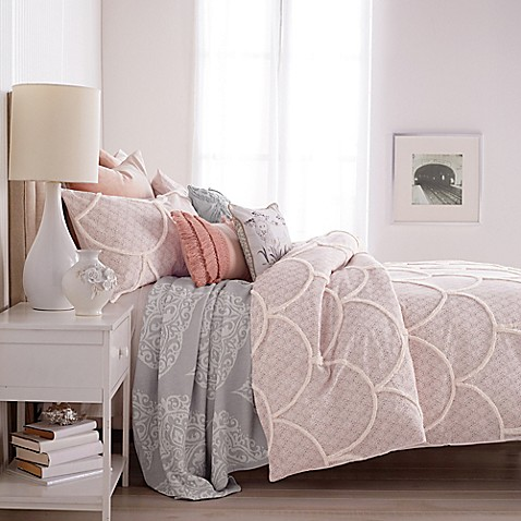 Peri Chenille Scallop Duvet Cover Bed Bath Amp Beyond