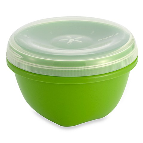 Buy preserve 25 1 2 ounce food storage container with lid for Bathroom containers with lids