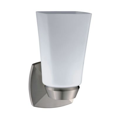 Wall Lamps Bed Bath Beyond : Buy Jewel 1-Light Wall Sconce in Satin Nickel from Bed Bath & Beyond