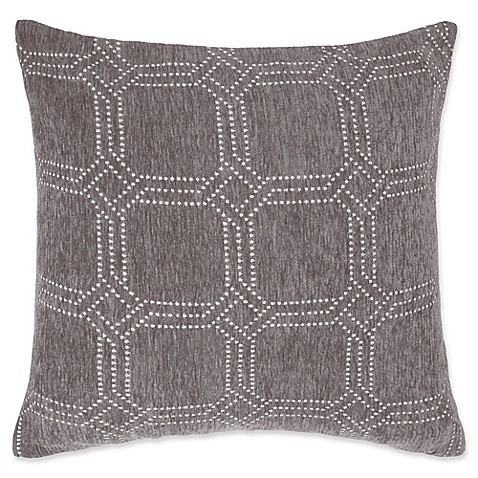 make your own pillow alberto square throw pillow cover bed bath beyond. Black Bedroom Furniture Sets. Home Design Ideas