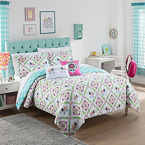 waverly kids bollywood reversible comforter set bed bath With bed bath and beyond kids comforter sets