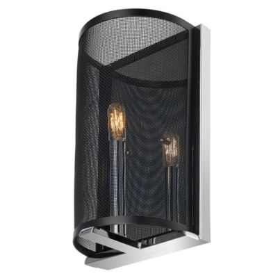 Bathroom Wall Sconces Black : Globe Electric Aliya 1-Light Wall Sconce in Black - Bed Bath & Beyond