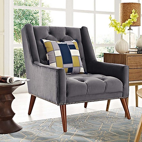 Modway Peruse Velvet Armchair at Bed Bath & Beyond in Cypress, TX | Tuggl