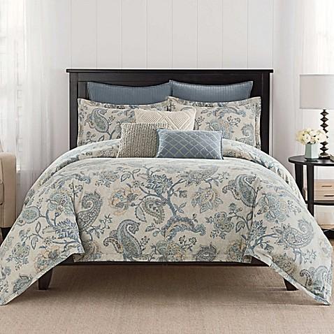 Buy Bridge Street Sonnet King Comforter Set In Beige From