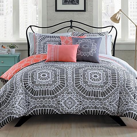 Avondale Manor Petra 10 Piece Reversible Comforter Set