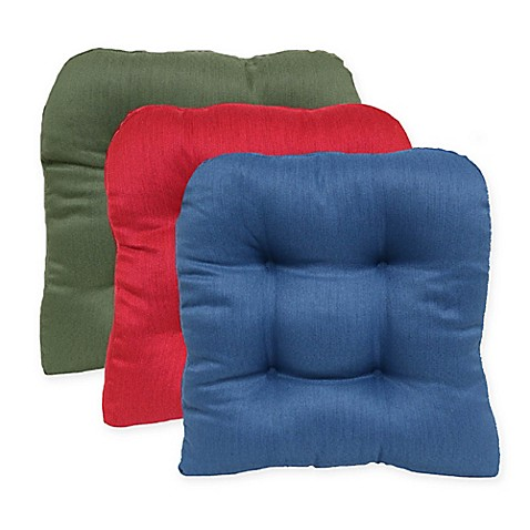 Morocco Non Skid Waterfall Chair Pads Set Of 2 Bed