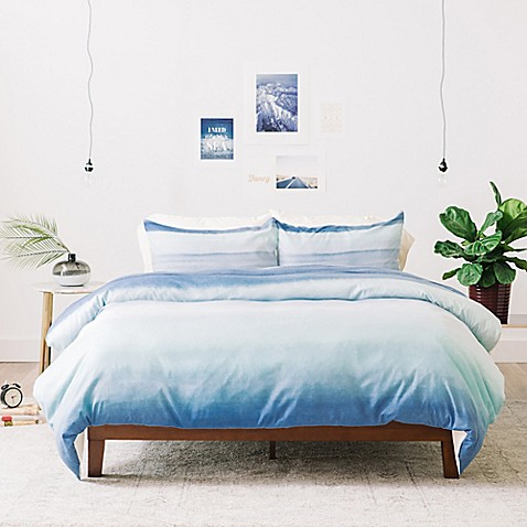 Deny Designs Amy Sia Ombre Watercolor Duvet Cover Bed