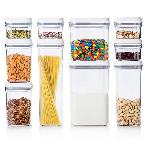 Oxo Good Grips 174 10 Piece Food Storage Pop Container Set