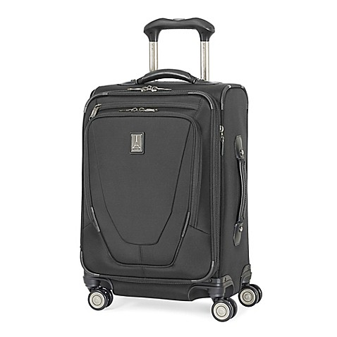 Travelpro 174 Crew 11 22 Inch Carry On Spinner Suitcase Bed