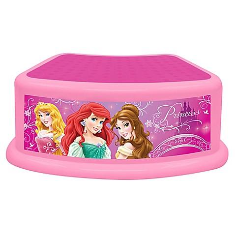 Disney 174 Princess Dare To Dream Step Stool Buybuy Baby