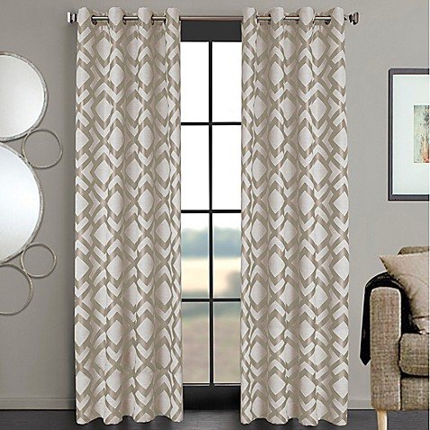 Ryder Grommet Window Curtain Panel Bed Bath Amp Beyond