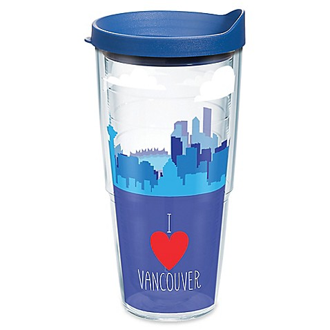 Buy Tervis I Heart Vancouver Skyline 24 Oz Wrap Tumbler With Lid From Bed Bath amp Beyond