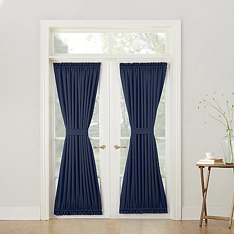 Sun Zero Bella 72 Inch Room Darkening Rod Pocket Door