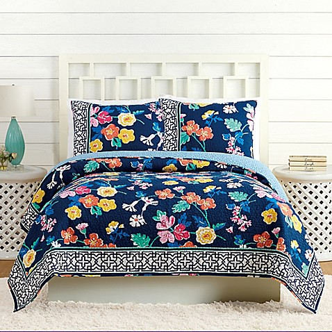 Vera Bradley® Maybe Navy Quilt at Bed Bath & Beyond in Cypress, TX | Tuggl