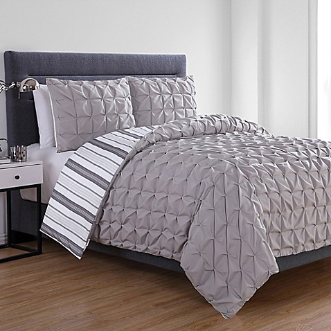 VCNY Home Brielle Reversible Duvet Cover Set at Bed Bath & Beyond in Cypress, TX | Tuggl