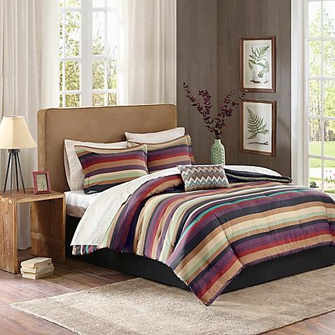 Madison Park Essentials Cayenne Comforter Set Bed Bath