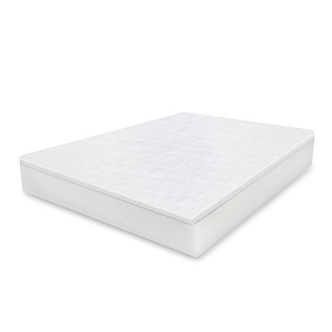 Therapedic® Cool Cotton Mattress Protector in White at Bed Bath & Beyond in Cypress, TX | Tuggl