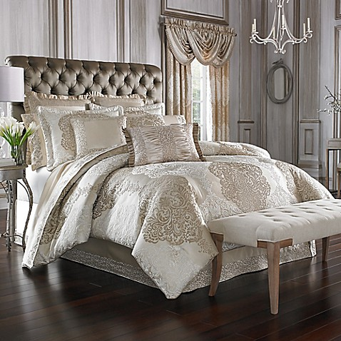 J Queen New York La Scala Comforter Set Bed Bath Amp Beyond