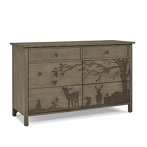 Ed Ellen Degeneres Forest Animal 6 Drawer Double Dresser