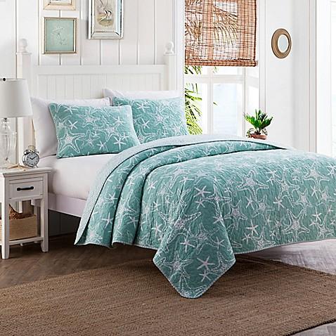 Starfish Reversible Quilt Set Bed Bath Amp Beyond