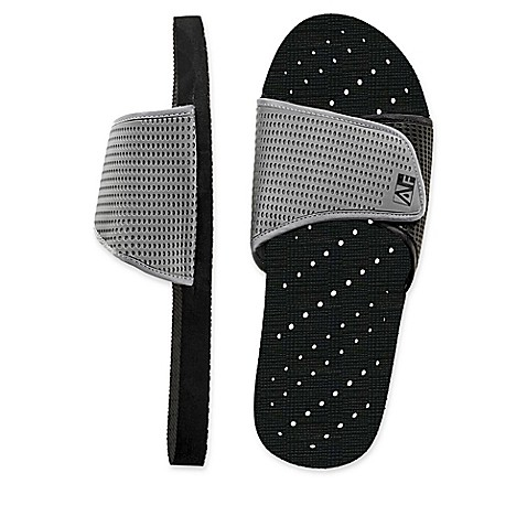 men s slide aquaflops shower shoes in grey black bed women s heart aquaflops shower shoes in aqua bed bath