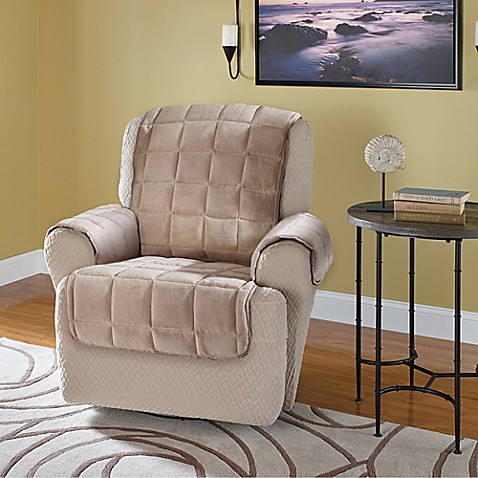 Plush Recliner And Wingback Chair Protector Bed Bath