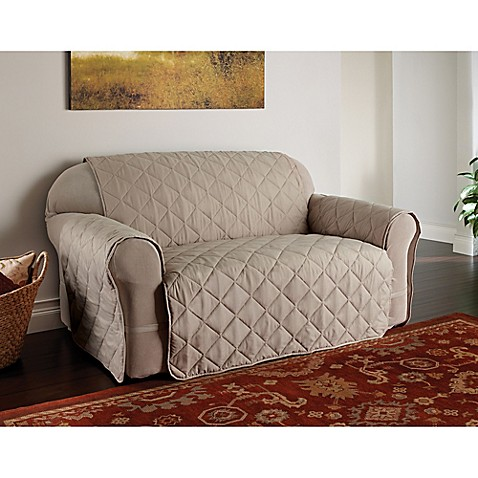 Buy microfiber ultimate sofa protector in natural from bed for Ultimate sofa bed