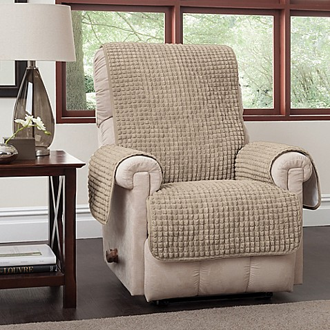 Puff Recliner And Wingback Chair Protector Bed Bath Amp Beyond