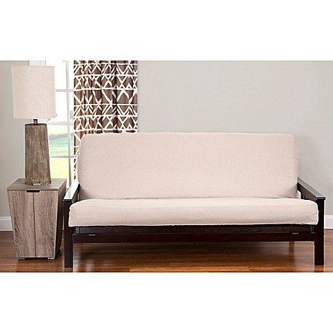 Pologear Faux Camelhair Futon Cover Bed Bath Amp Beyond