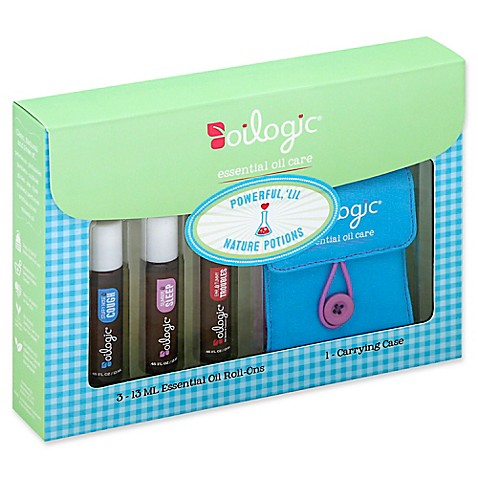 Oilogic® On-The-Go Essential Oil Care Gift Set at Bed Bath & Beyond in Cypress, TX | Tuggl