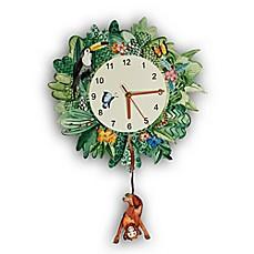 Decorative Clocks Nursery Letters Wall Plaques