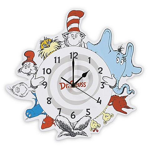 Buy Trend Lab 174 Dr Seuss Friends Wall Clock From Bed Bath