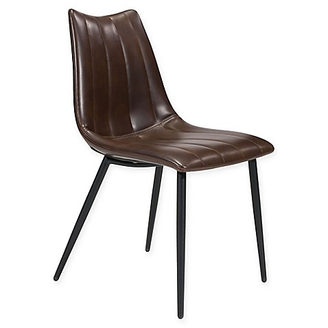 buy zuo norwich dining chairs in brown set of 2 from