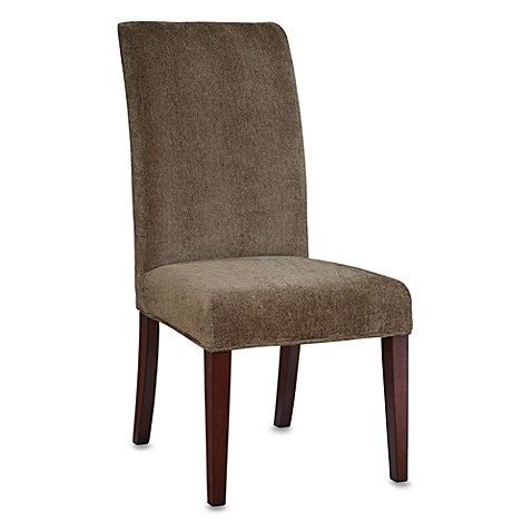 Powell Parsons Chair Olive Green Chenille Slip Over