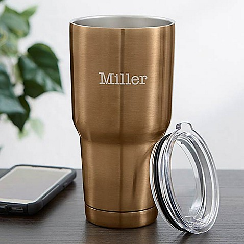 30 oz. Stainless Steel Travel Tumbler at Bed Bath & Beyond in Cypress, TX | Tuggl