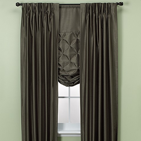 Paris Pinch Pleated Drapes And Tie Up Shades