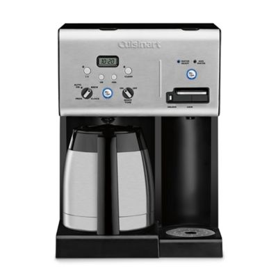 Single Coffee Maker Bed Bath And Beyond : Cuisinart 10-Cup Coffee Maker with Hot Water System - Bed Bath & Beyond