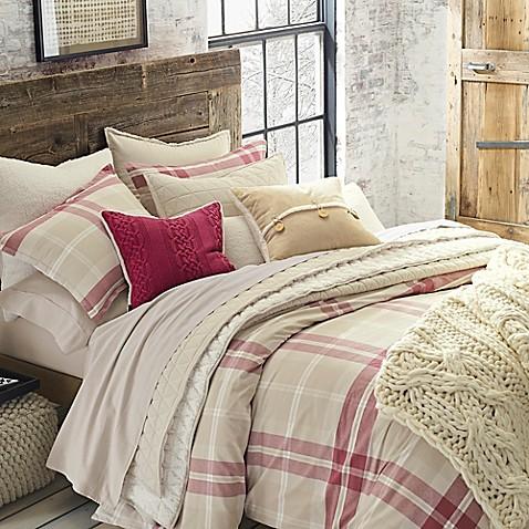 Ugg 174 Monterey Plaid Chambray Reversible Comforter Set