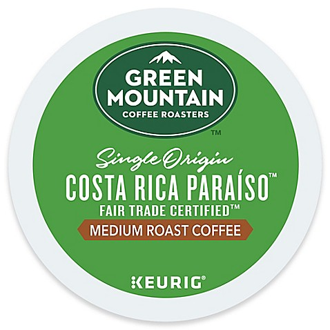Keurig 174 K Cup 174 Pack 18 Count Green Mountain Costa Rica