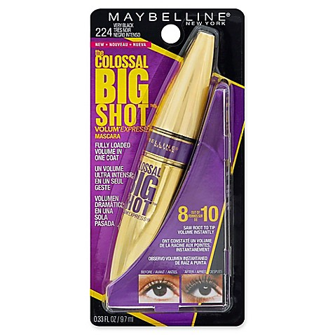Maybelline® The Colossal Big Shot™ Volum' Express .33 Fl. Oz. Mascara In Very Black by Bed Bath And Beyond