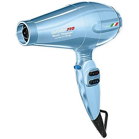 Buy BaBylissR PRO Nano TitaniumTM Portofino Hair Dryer In