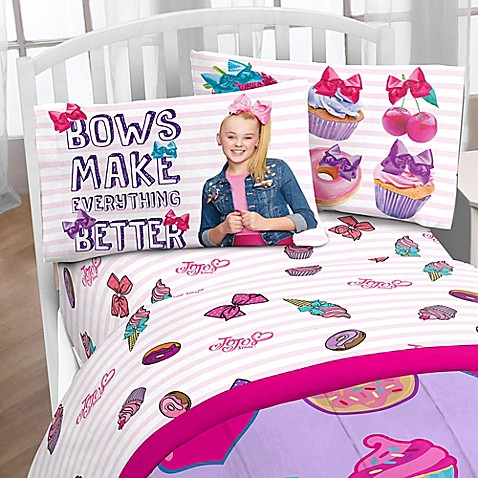 Jojo Siwa Sweet Life Sheet Set Bed Bath Amp Beyond