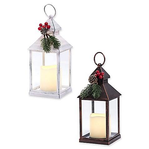 Holiday LED Lantern - Bed Bath & Beyond