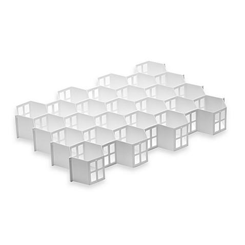 Real Simple 174 Honeycomb Drawer Organizer Bed Bath Amp Beyond
