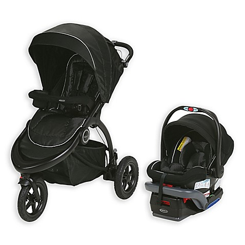 Graco 174 Trailrider Jogger Travel System In Comet Buybuy