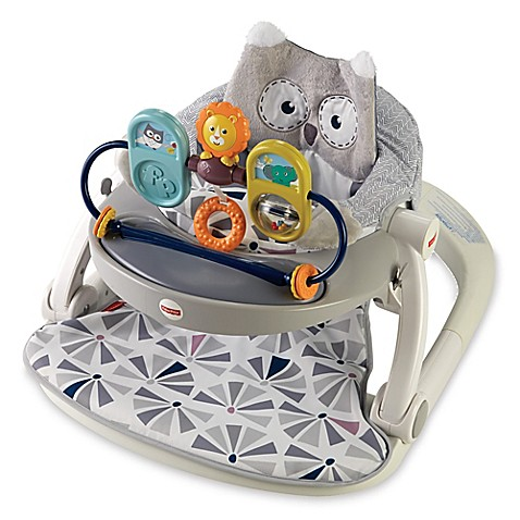 Fisher-Price® Owl Sit-Me-Up Floor Seat - buybuy BABY