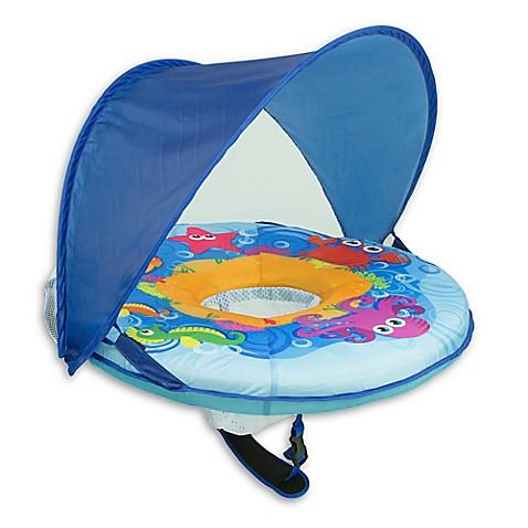Aqua Leisure 174 Self Inflating Babyboat In Blue Buybuy Baby