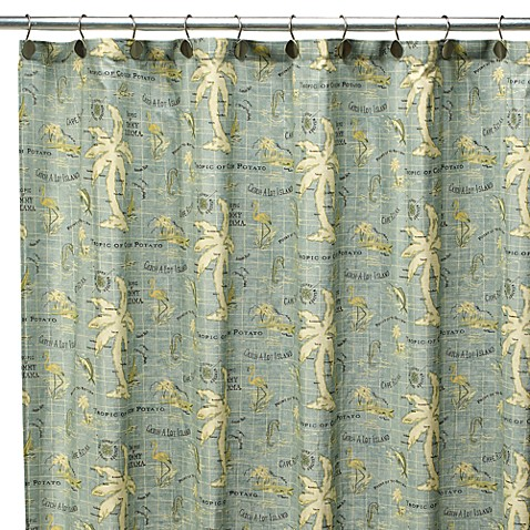 Buy Tommy Bahama Island Song 72 Inch X 72 Inch Fabric Shower Curtain From Bed Bath Beyond